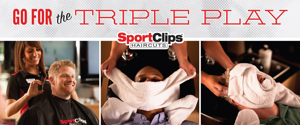 The Sport Clips Haircuts of Morrisville  Triple Play